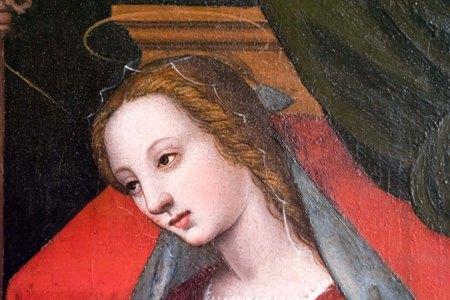 Dettaglio Vergine - Ph F Cacchiani