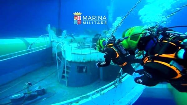 barcone relitto marina militare-2
