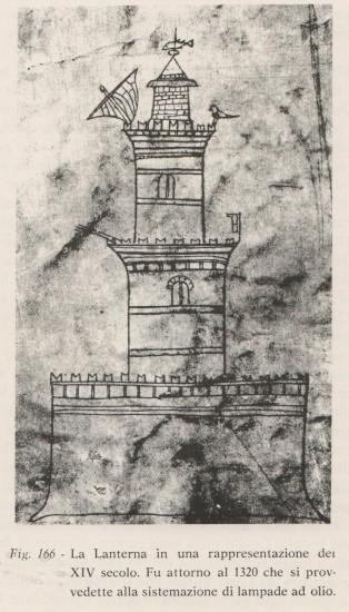 0 Lanterna 1320 da Storia di Genova e della Liguria di M.Dolcino ed.ERGA