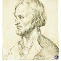 Albrecht-Duerer-Filippo-Melantone-1526-ca-Disegno-a-penna-e-inchiostro-su-carta-Firenze-Museo-Horne_civita_exhibitions_gallery