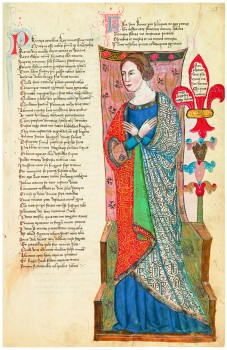 Regia Carmina (1342) c. 13r
