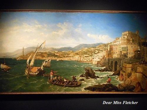 william-parrott-veduta-del-porto-di-genova-dallo-scoglio-campana-1854