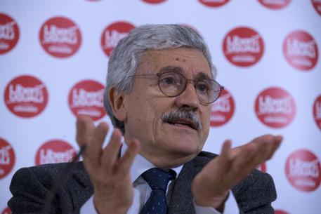Ue: D'Alema, LeU e Pd contro populisti?Renzi alleato del Cav