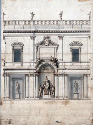 Alessandro-Specchi-Sistemazione-delle-statue-a-palazzo-dei-Conservatori