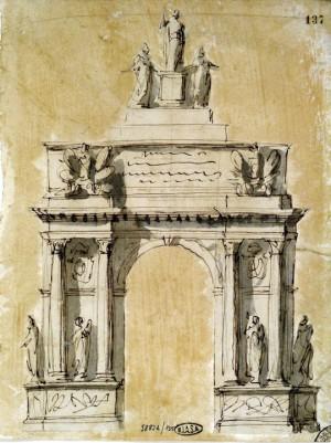 Giuseppe-Valadier-Arco-di-Trionfo-per-Pio-VI-1800