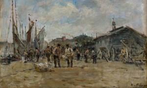 PECRUS-Le-Port-de-Honfleur-v-1873-1000x600