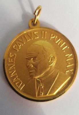 medaglia-dorata-giovanni-paolo-II-Roma-monassi