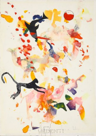 Alighiero-Boetti-Senza-titolo-animali-misti-1988-collage-e-tecnica-mista-su-carta-35x25-cm-425x600