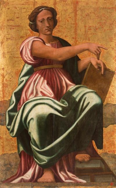 Cola dell'Amatrice, Sibilla 2, Ascoli Piceno, Pinacoteca Civica