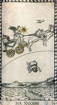 Trumpfkarte_des_Mantegna-Tarots_-_Sol