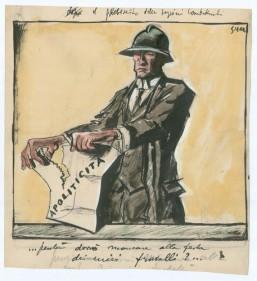 Sironi e le illustrazioni per 'Il Popolo d'Italia' 1921-1940