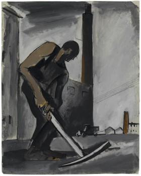 04.Sironi_Allegoria dell_espansione urbanistica, 1921