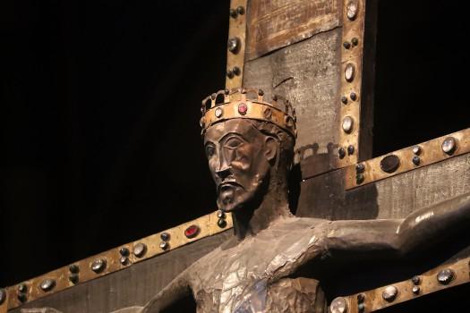 Crocifisso 1170 ca, Cattedrale di Sant Evasio, Casale Monferrato