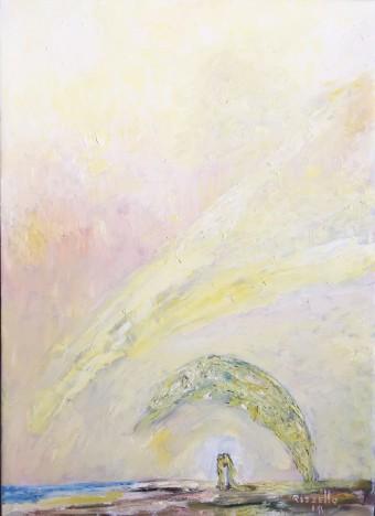 Antonio Rizzello-2°canto di Eva-olio su tela-cm.50x70-2018