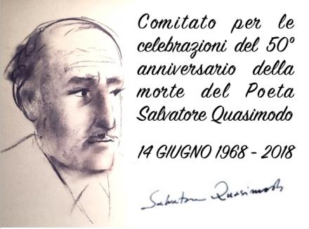 Logo Comitato 50 morte Quasimodo