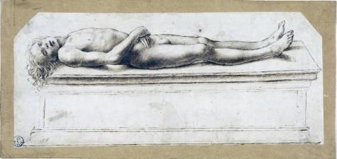 0Marco-BasaltiNudo-maschile-sdraiato-inizi-XVI-secolo