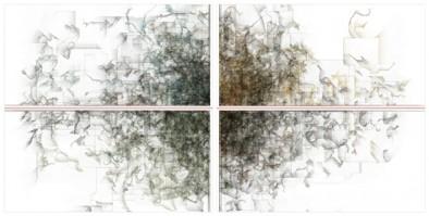 15) Ryoichi Kurokawa, oscillating continuum, 2013