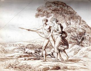 12_Venere e Adone a caccia_Pelagio Palagi
