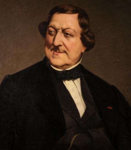 1_Ritratto Rossini 1840-50_D_Ancona_Fondazione Rossini