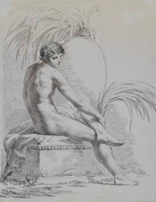 8_Pelagio_Palagi_Studio di nudo virile