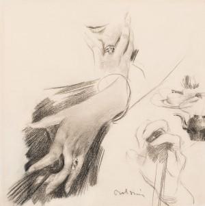 Boldini - Studio di mani alta