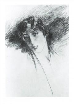 Boldini- Studio per ritratto di donna, 1920