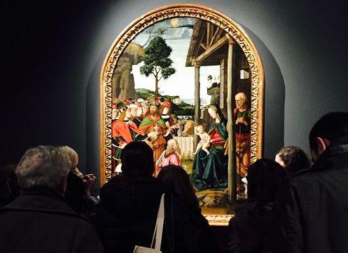 Arte/L'Adorazione dei Magi del Perugino a Milano per Natale