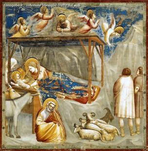 The Nativity, Arena Chapel, Giotto
