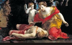 OVIDIO - Gessi, Morte di Adone, Pesaro Civici