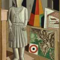Carlo-Carra-La-musa-metafisica-1917-Olio-su-tela-cm-90-x-66-Milano-Pinacoteca-di-Brera_civita_exhibitions_gallery