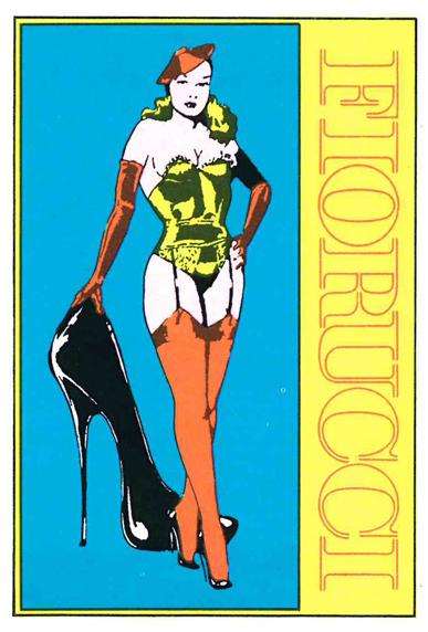 A7) Fiorucci Stickers, 1984, Panini, Modena