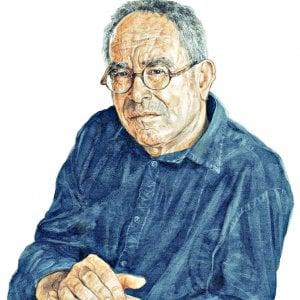 Tullio-Pericoli-in-un-ritratto-di-Riccardo-Mannelli-Il-Martino-ilmartino.it-MArt-Arte-e-Cultura-