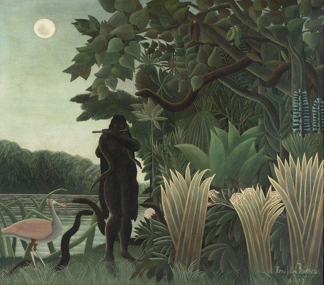 17.-Douanier-Rousseau_Charmeuse-de-serpent