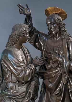 Andrea del Verrocchio, Incredulità di San Tommaso, Firenze, Chiesa e Museo di Orsanmichele - Foto Claudio Giusti(1)