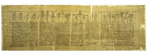 Papiro funerario di Epoca Tolemaica_332-30 a.C.
