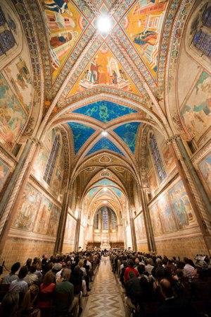 concerto TMF ad Assisi