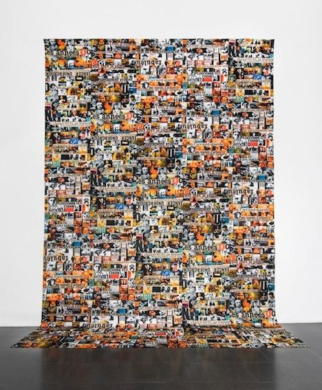 per mail di Nanni Balestrini  Anni '70, Anni '80  cm 700 x 500 tela emulsionata(1)