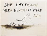 tracey-emin--she-lay-deep-down-beneath-the-sea-