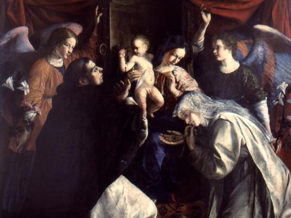93617-Orazio-Gentileschi_Madonna-del-Rosario_Pinacoteca-civica_-B-Molajoli_Fabriano