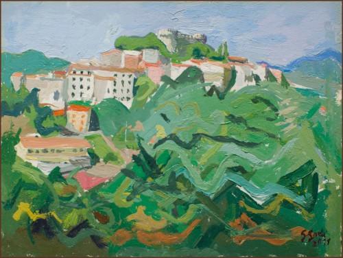 Godi-15 - Monterotuni - 2011 - 30 x 40 - olio su tavola