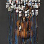 Arman-Sans-titre-2002-violini-sezionati-tubetti-di-vernice-e-acrilico-su-tela-nera-cm-102x81.-150x150