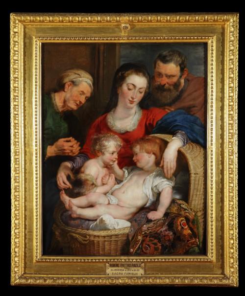 Madonna Cesta dopo restauro