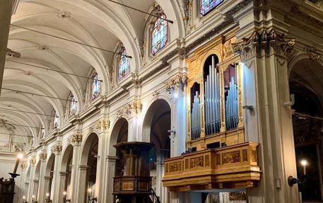 Restaurato l'organo della chiesa di San Marco, lo suonò Mozart