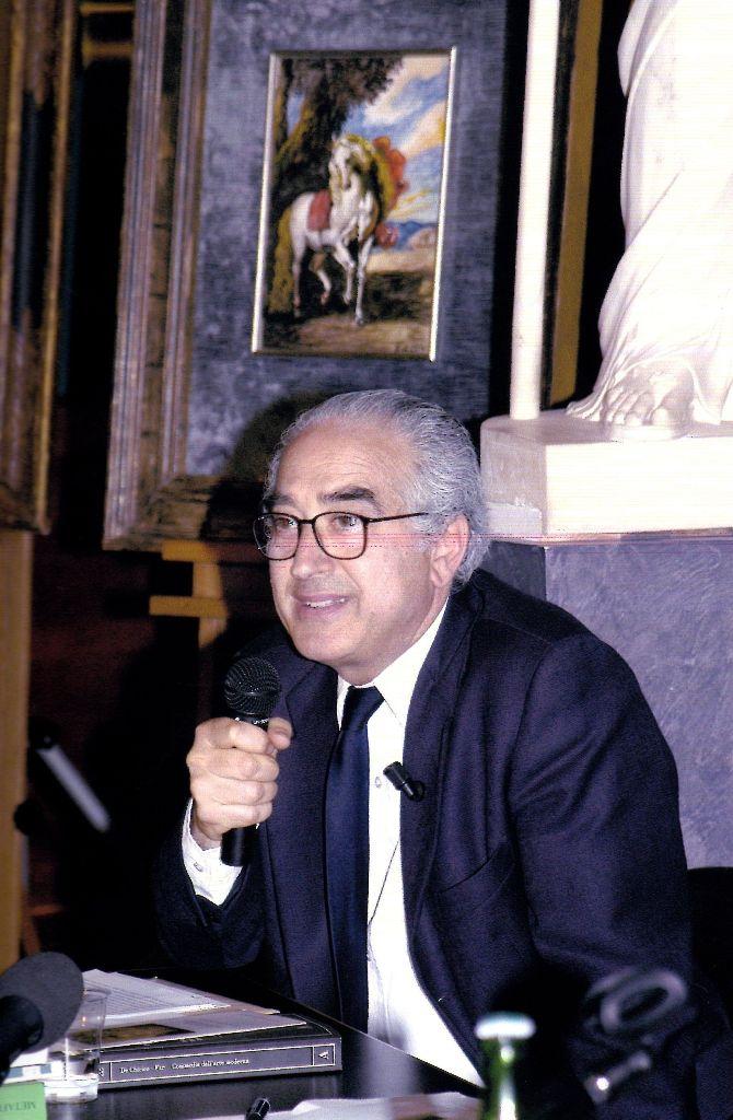 m_ursino, conferenza su de Chirico alla GNAM (2005)