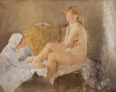 13. Giovanni Romagnoli, Betsabea, collezione privata-min