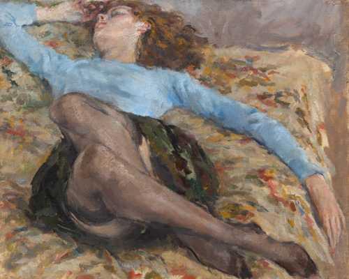 15.Ugo Guidi, Riposo, collezione privata-min