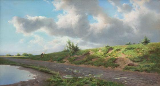 5. Coriolano Vighi, Dopo il temporale, 1895, collezione privata-min