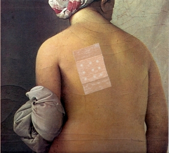Senza titolo, omaggio ad Ingres 1967