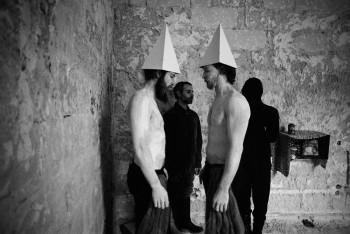 Spettacolo teatrale_Lecce_2000_ph. Mario Dondero