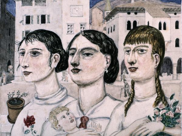 97671-02_Tullio_Garbari_Figure_in_Piazza_Duomo_Tre_sorelle_1924_